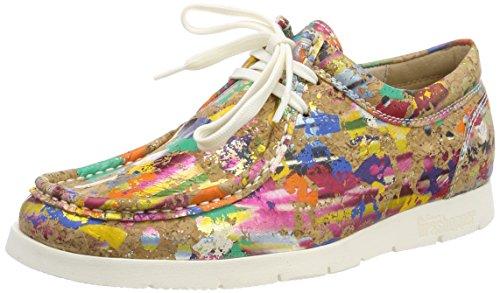 Sioux Damen Grash-d172-29 Sneaker, Mehrfarbig (Blob-Multi), 35.5 EU (3 UK)