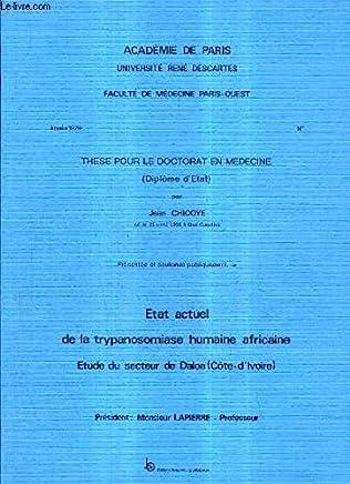 Amazon.fr : Trypanosomiase africaine : Livres