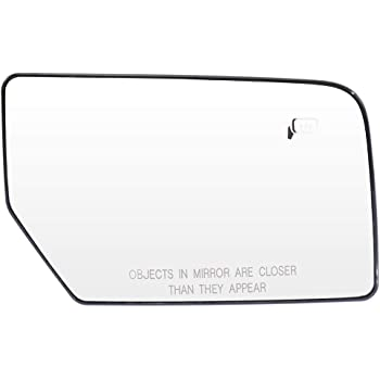 ECCPP Left Side Mirror Glass Heated Fit for 2003-2007 for Lincoln Navigator