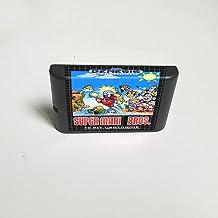 Lksya Super Marioed Bros. - Carte de jeu MD 16 bits pour cartouche de console de jeu vidéo Sega Megadrive Genesis (coquill...
