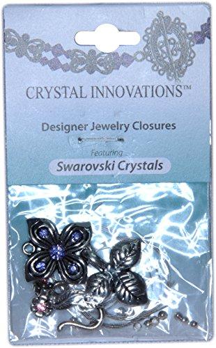 Swarovski Crystal Innovations Pink Flower & Leaf Clasp Bracelet Kit (2)