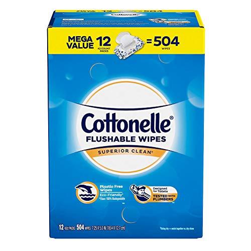 Cottonelle Flushable Wipes (504 ct.)