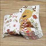neue Designs Kissenbox Jelry & Halskette & Ohrring Box Weihnachten Geschenke Paketbox Niedliche Animlas Baby Show Paket-gleiche wie Foto, 12box12earring Karte