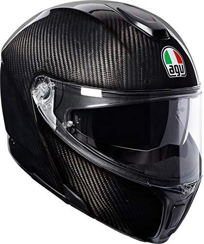 AGV Herren SPORTMODULAR Motorradhelm, Glossy Carbon, XXL