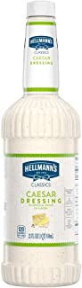 Hellmann's Classics Caesar Salad Dressing Salad Bar Bottles Gluten Free, No Artificial Flavors, Colors or High Fructose Co...