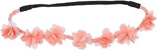 Multicolor Chiffon Flower Headband Flower Crown Headband