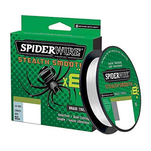 Tresse Spiderwire Stealth Smooth 8 Brins 150M Translucide - 0,13Mm - 12,7Kg - 1515651