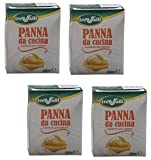 Tre Valli: Italian 'Panna Da Cucina', UHT Long Life Cooking Cream 6.76 Fluid Ounce (200ml) Packages (Pack of 4) [ Italian Import ]