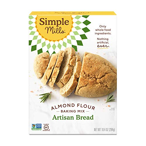 Simple Mills Almond Flour Baking Mix, Gluten Free Artisan Bread Mix, Made with whole foods, (Packaging May Vary)