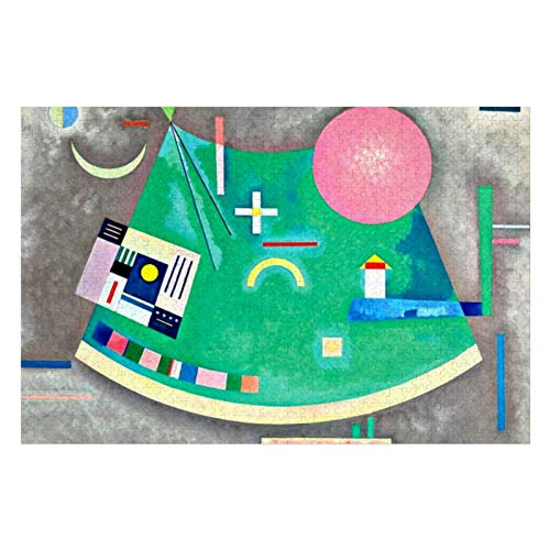 Kandinsky Arrow To Circle Puzzles for Adults, 1000 Piece Kids Jigsaw Puzzles Game Toys Gift for Children Boys and Girls, 20