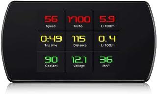 P12 OBD2 HUD Computer Car Digital OBD Driving Speedometer