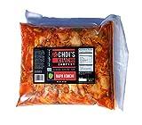 Half Gallon (3.5 lbs.) Spicy Napa Cabbage Kimchi [Vegan, Gluten Free, Non-GMO, Probiotic] by Choi's Kimchi Co. Made in USA.