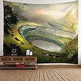 Paisaje tapiz colgante de pared,Hermosos paisajes de ciencia...