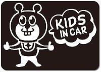 imoninn KIDS in car ステッカー 【マグネットタイプ】 No.66 グッドさん (黒色)