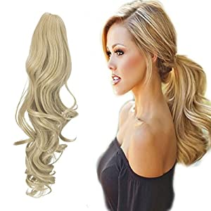 Beauty Shopping FUT Womens Claw Ponytail Clip in Hair Extensions 21 inches Long