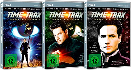 Time Trax - Zurück in die Zukunft, Gesamtedition / Die komplette Science-Fiction-Kultserie auf 12 DVDs (Pidax Serien-Klassiker)