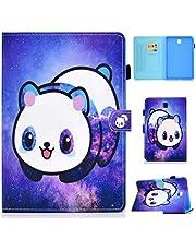 MUTOUREN Funda Compatible con Samsung Galaxy Tab A 8.0 Inch/SM-T350, Ultra Slim Protectora Cover con Soporte para lápiz/Función Auto Sueño/Estela/Duradero-Panda