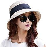 Floppy Summer Sun Beach Straw Fedoras Hats Wide...