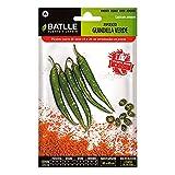 Las Semillas hortícolas Batlle - Pimiento Verde guindilla (300 Semillas)