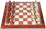 MWKLW Juego de ajedrez Staunton Juego de ajedrez magnético Colección Juego de Mesa Regalo de Viaje Juego de ajedrez navideño para niños