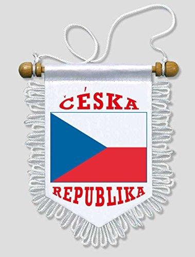 Bandiera Serbia 13 x 15 cm Bandierina per Auto e Pareti KOO Interactive