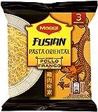Maggi Fusian Pasta Oriental Noodles Sabor Pollo - Fideos Orientales - Bolsa de fideos orientales de 71 g (1 ración)