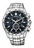 シチズン 腕時計 シチズン コレクション エコ ドライブ電波時計 ダイレクトフライト クロノグラフ CB5870-91L メンズ シルバー