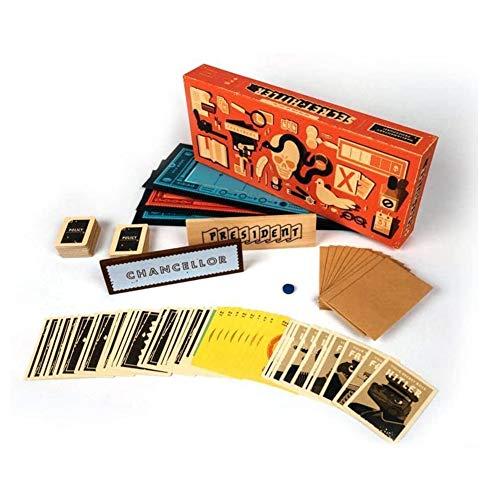 MXGP Lustiges Spiel Geheime Hitler-Brettspiele Classic EIN verstecktes Ausweisspiel für Partys Schnelle Brettspiele für Familien Spieleabend Geeignet für 5 bis 10 Spieler Kartenrätselspiel