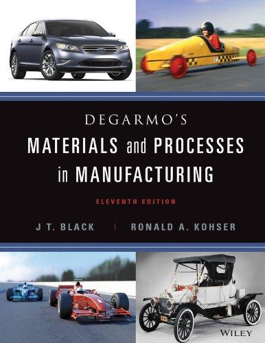 Materials Processes Manufact 11e