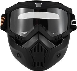 Antipolvere Sci Copertura di Viso Integrale per Moto Traspirante ZWOOS Passamontagna Protezione UV Ciclismo