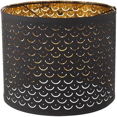 Copper Circles Drum Lamp Shade 13x14x11 Spider