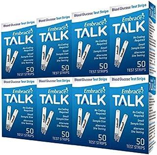 Embrace TALK Test Strips Bundle 400 Ct