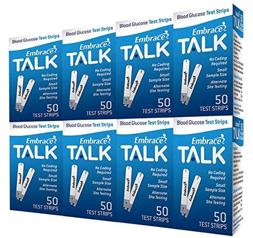 buy Embrace TALK Test Strips Bundle 400 Ct Blood Test Strips