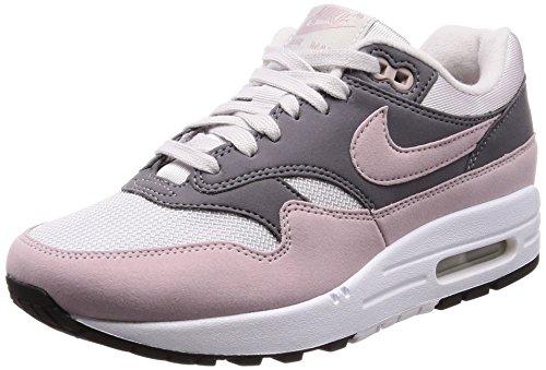 Nike Wmns Air Max 1, Scarpe da Ginnastica Donna, Grigio (Vast Grey/Particle Rose/Gunsmoke/Black), 44 EU