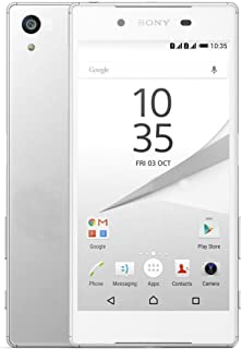 Sony Xperia Z5 Dual 4G LTE Unlocked E6633 32GB Water Dust Proof 23MP Octa Core No Warranty (White)