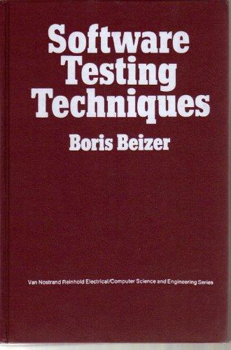 SOFTWR TESTING TECHNIQUES