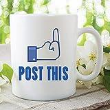 Lustige Facebook-Becher, Neuheit-Tee-Tasse,