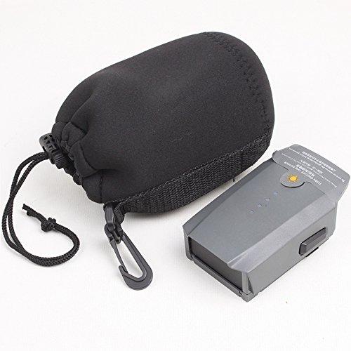 Flycoo - Bolsa de almacenamiento con gancho para DJI Mavic Pro / Mavic Pro Platinum mando a distancia y batería (sin bolsa para batería)