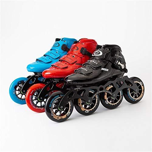 Find Bargain XIANGNAIZUI Inline Skates EUR Size 30-44 Carbon Fiber Professional Competition 490/100/...