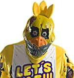 Rubie's Costume Co Men's Five Nights At Freddy's Nightmare Chica 3/4 Mask, As Shown, One Size