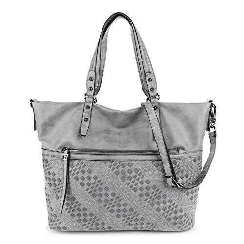 SURI FREY Shopper No.1 Silvy für Damen grey 800 grey 800 One Size