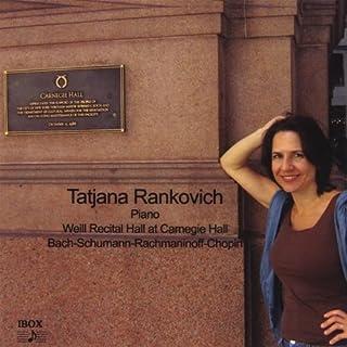 Weill Recital Hall at Carnegie Hall- Schumann: Kreisleriana Op. 16 / Bach: Toccata in C Minor / Chopin: Ballade in F minor...