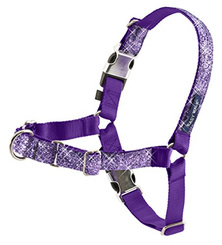 PetSafe Bling Easy Walk Harness, Small, Purple