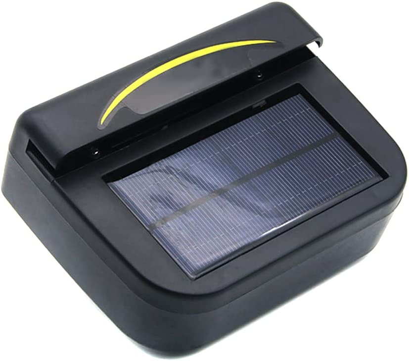 Eco-Friendly Solar Power Air Conditioner Cooler Over item handling ☆ for Vent Car Max 68% OFF