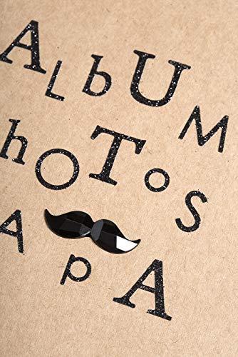 Youdoit Alfabeto Adhesivo con Brillo Negro