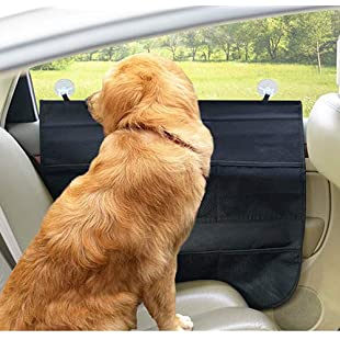 QNMM Car Door Protection Mat Pet Seat Cover Pet Car Door Cover Set Of 2 Interior Protector And Guard For Vehicle Back Door Suitable For Most Cars