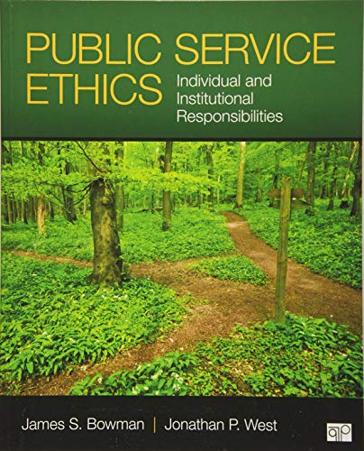 Download Public Service Ethics 1452274134