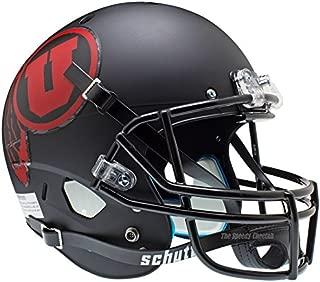 Utah Utes Black Red Officially Licensed Full Size XP Replica Football Helmet