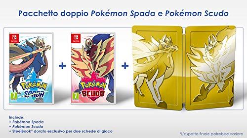 Pokémon Spada e Scudo Dual Pack - Limited - Nintendo Switch, 7 anni+