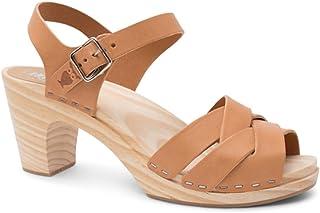 1a6944be85 Sandgrens Swedish High Rise Wooden Heel Clog Sandals for Women | Rio Grande  High Rise